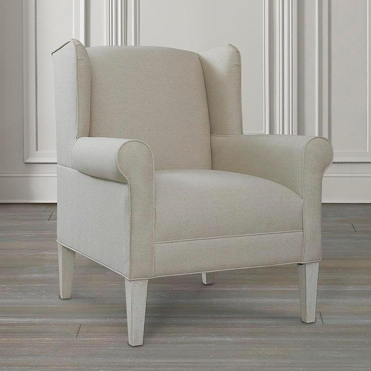 Luxury Beige Accent Chair Decoration