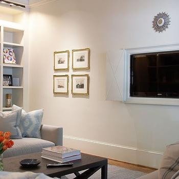 Hidden Wall Tv Design Ideas