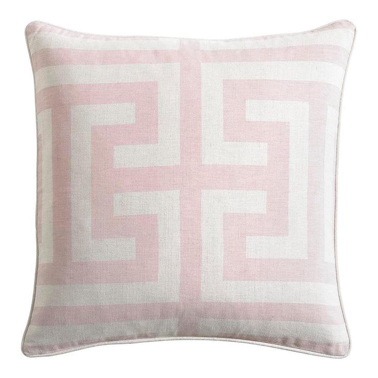 pink throw pillows pillow blush toned here using fabric combo colored waverly learn how