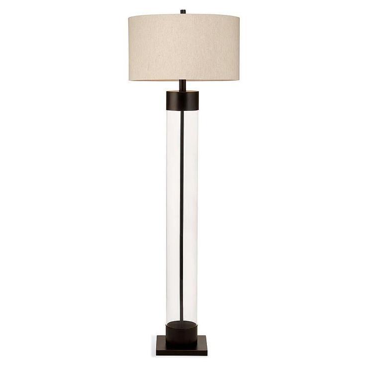 Haines Floor Lamp In Bronze