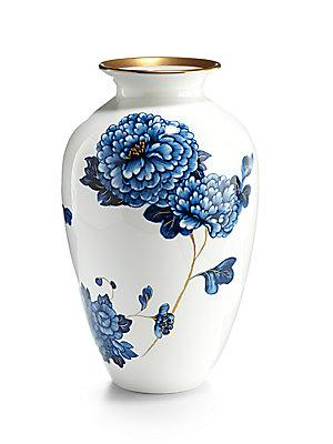Prouna Emperor Vase In Blue And White