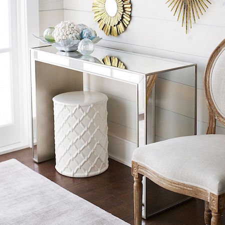Pier 1 Imports Alexa Mirrored Console Table
