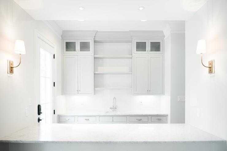 Bm classic gray design ideas for American white benjamin moore