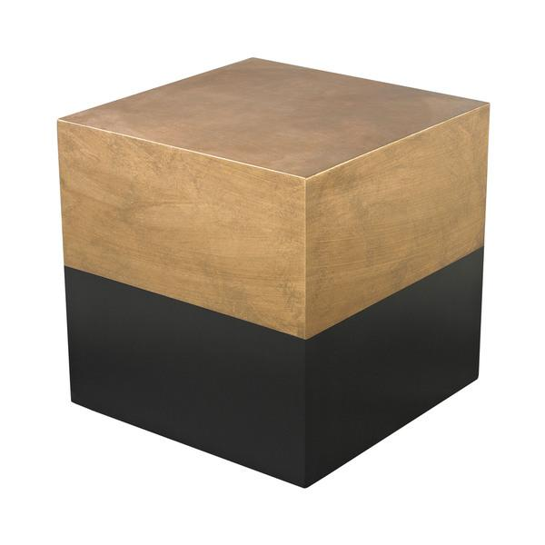 Alexander Cube Table Stone Gold