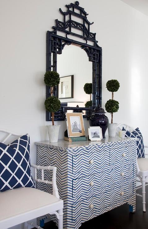 Navy Blue Dining Chairs Cottage Dining Room Sarah
