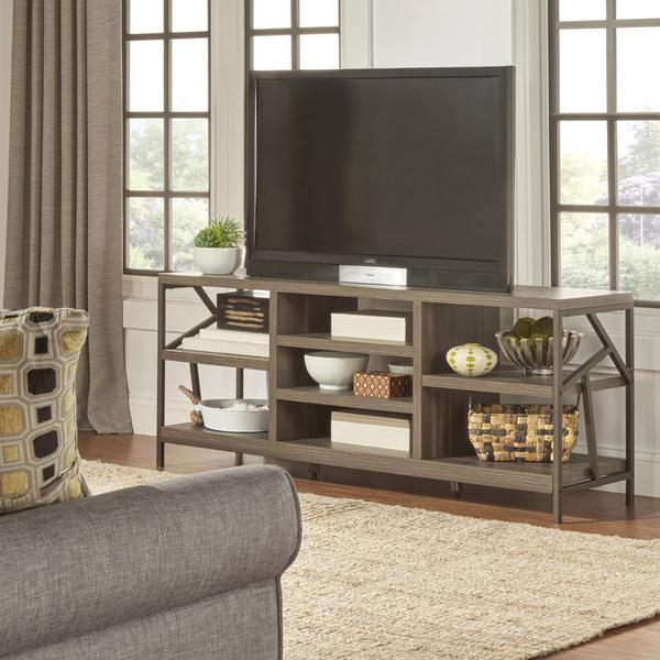 Lincoln Metal Accent Storage A, Tv Stand Sofa Table