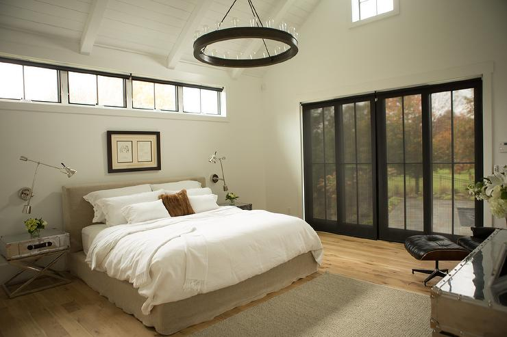 Bed Under Clerestory Windows
