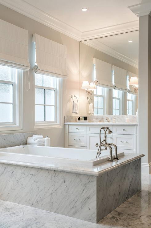 Center Tub Bathroom Design : Center bathtubs traditional bathroom bella casa design