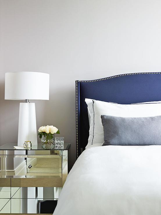 navy blue pomegranate velvet headboard upholstered love tufted