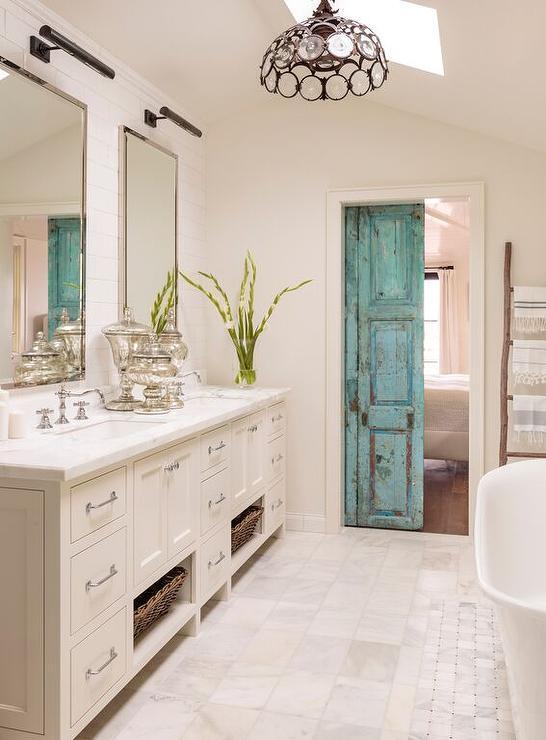 Bathroom Design Door : Master bathroom barn door design ideas