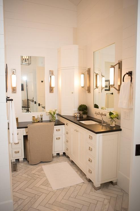 Corner Bathroom Cabinets With Eclipse Wall Lights