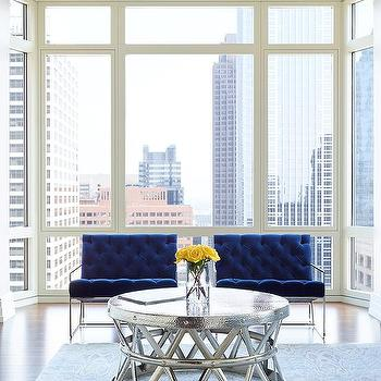Blue Accent Chairs Design Ideas
