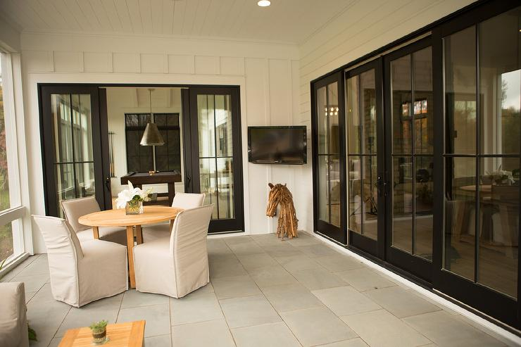 Patio With Glass Sliding Doors View Full Size