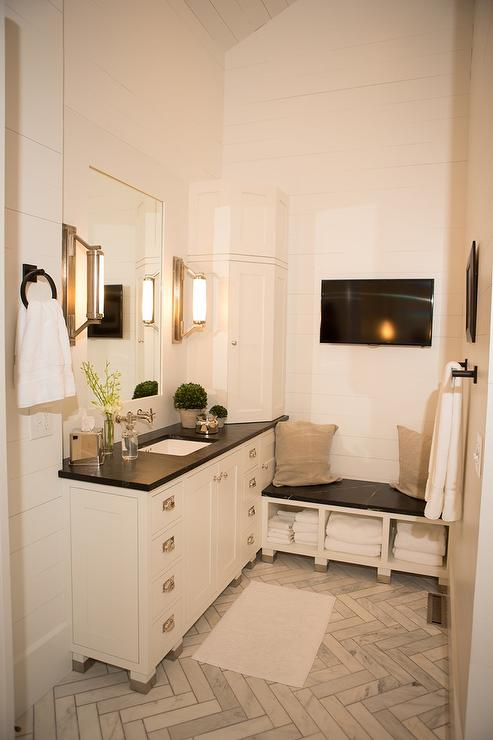Soapstone Clad Tub Modern Bathroom