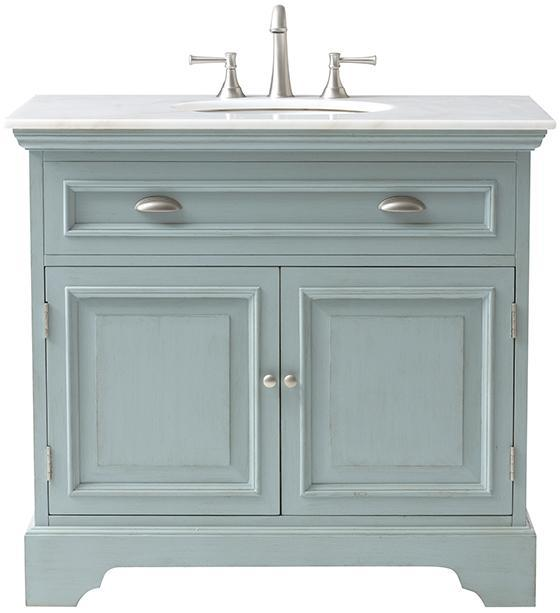 Antique Blue Sadie Double Vanity