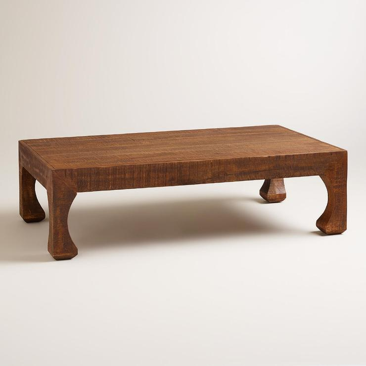 Wood Sorum Coffee Table In Brown