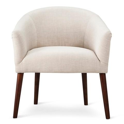 Threshold Barrel Chair In White