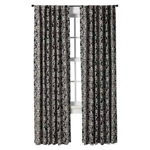 Curtains Ideas black and white damask curtains : Black And White Damask Curtain - Products, bookmarks, design ...