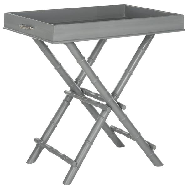 Safavieh Hobson Grey Tray Table View Full Size