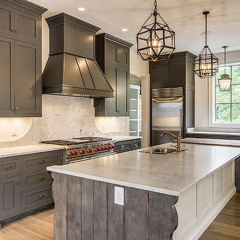 Reclaimed Wood Kitchen Island Ends Design Ideas