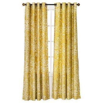 Rambagh Clay Paisley Curtain