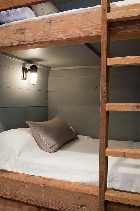 Wall Sconces By Bed : Bunk Bed Ladder Design Ideas