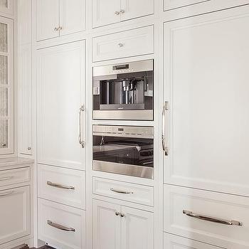 White Paneled Refrigerators With Freezer Drawers