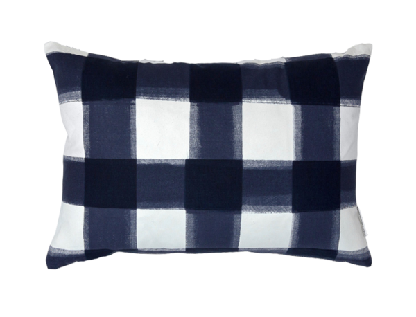 7daf10ef286 Navy Burnside Buffalo Check Pillow