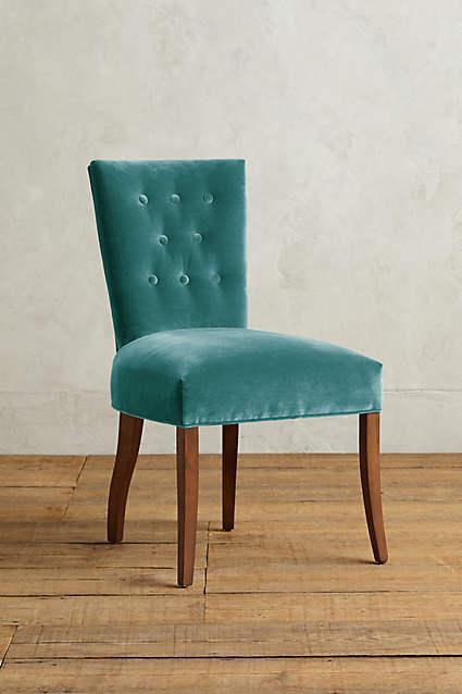 Christopher Knight Home Marianne Grey Velvet Dining Chair