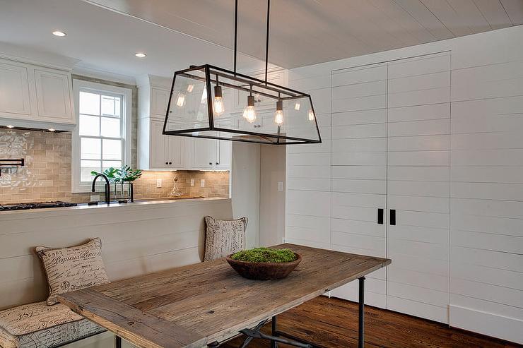 Reclaimed Wood Pantry Doors Design Ideas