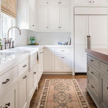 Pink Kilim Kitchen Rug Design Ideas