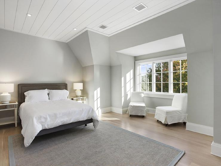 Shiplap Bedroom Ceiling Design Ideas