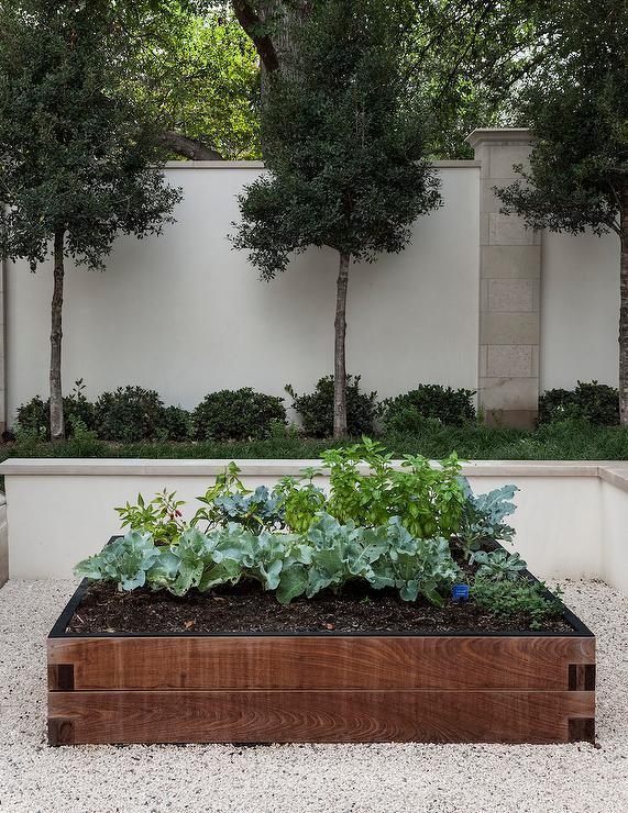 Raised Box Herb Garden View Full Size