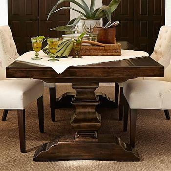 Banks Extending Brown Dining Table