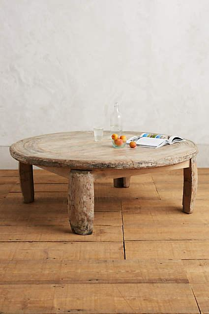 White Washed Cypria Coffee Table