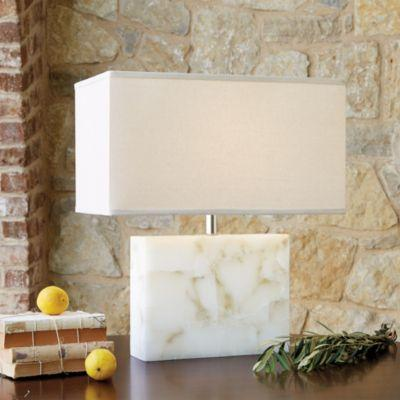 Delightful Casa Florentina Alida Table Lamp In White