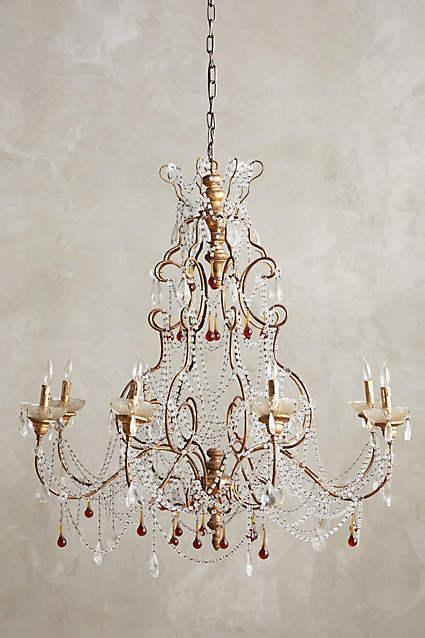 Rissa crystal white beaded chandelier clear crystal radomira chandelier aloadofball Choice Image