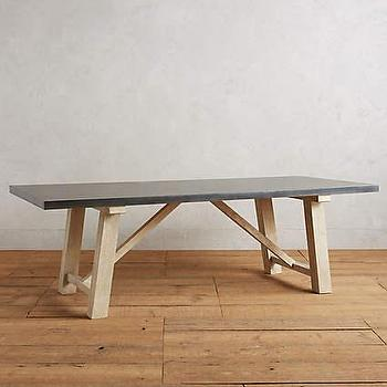 Gwalior Zinc Finished Iron Dining Table India