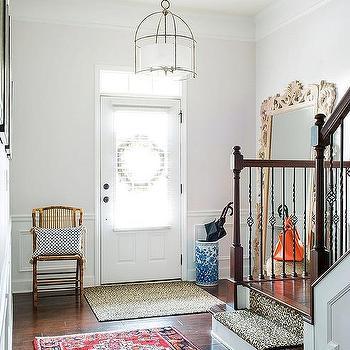 Foyer Leaner Mirror Design Ideas