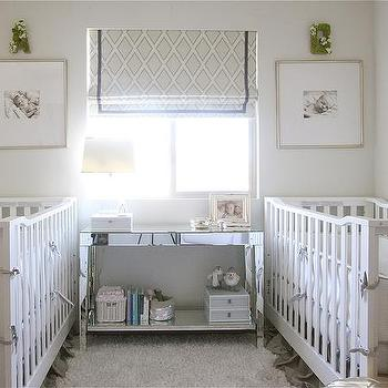 Upholstered Nursery Cribs Design Ideas
