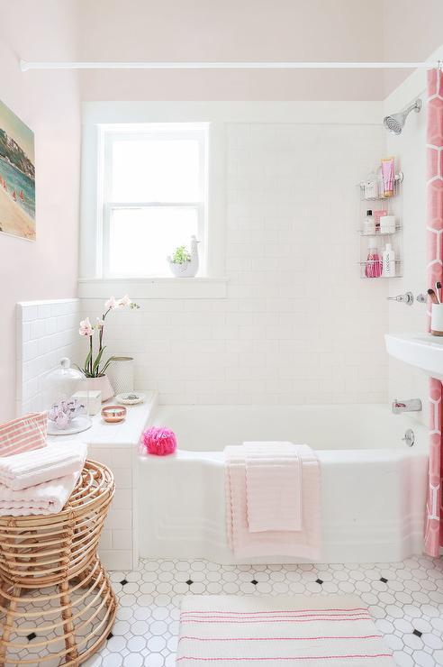 Pink Girly Bathroom Design
