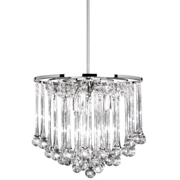 8 light polished chrome chandelier with glass droplets dainolite 8 light polished chrome chandelier with glass droplets mozeypictures