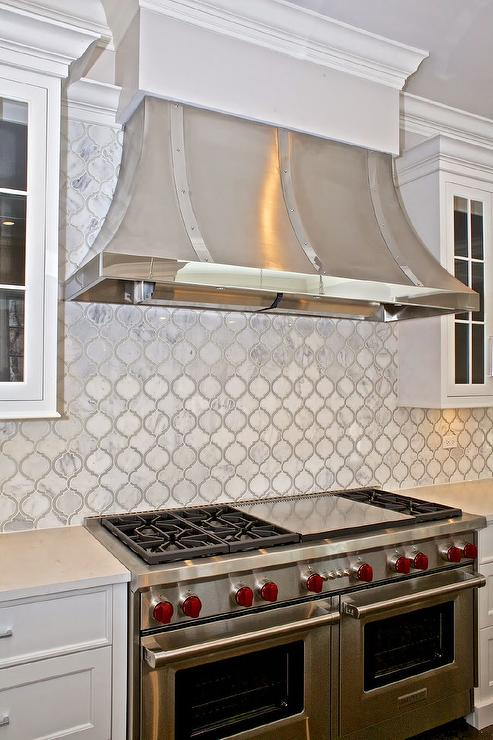 French Kitchen Hood With Wolf Dual Range Transitional