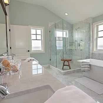 spa like coastal bathroom, cottage, bathroom