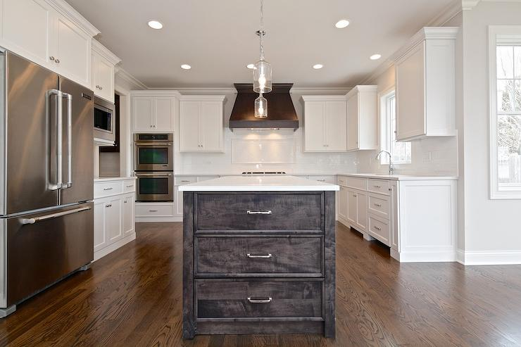 White Kitchen Hood dark brown kitchen hood design ideas