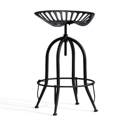pottery barn tractor seat barstool view full size