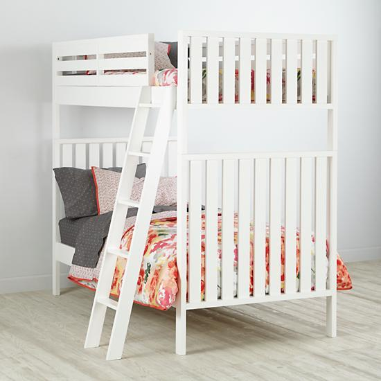 White Cargo Bunk Bed