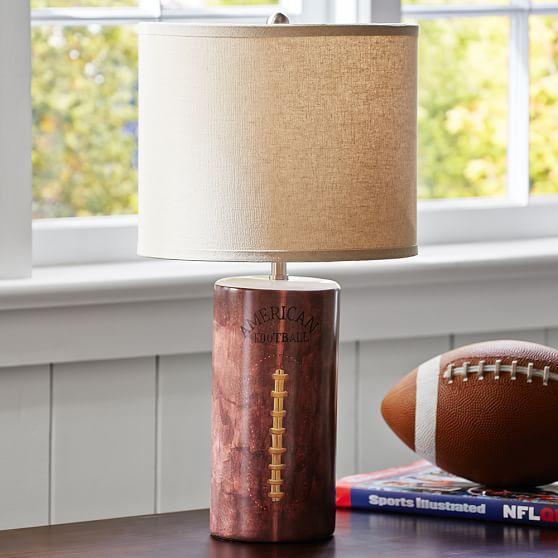 Football table lamp aloadofball Choice Image
