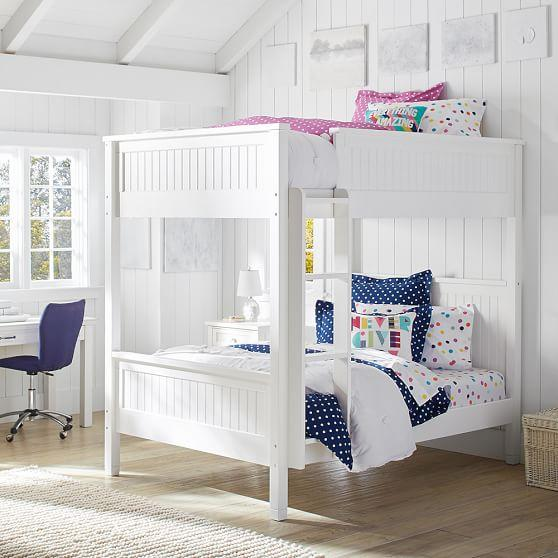 Tree House White Bunk