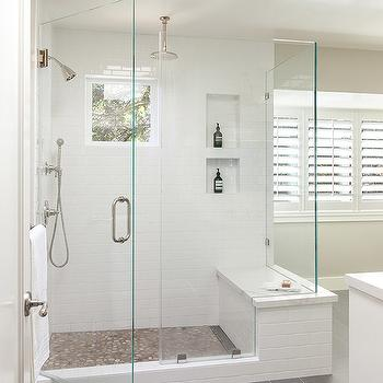 unexpected bowie shower town ideas effect color floor pebble for tile home